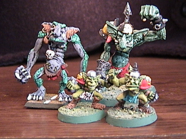 What GOblin team would play without a bunch of ugly Trolls!
