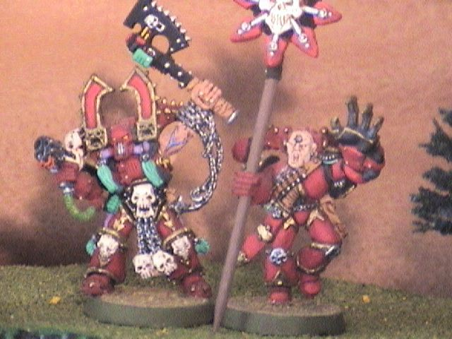 Kharn and my Standard Bearer