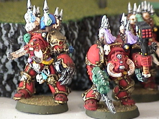 A view of some Khorne laddies!