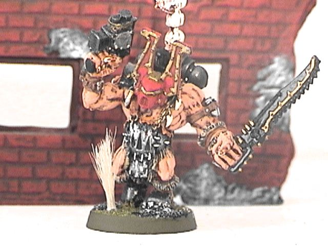 The Boss! Khorne boys workout ya know....
